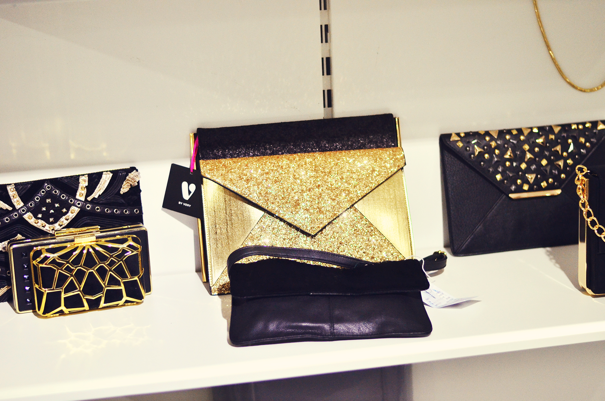 Clutch bags from Very.co.uk Partywear range