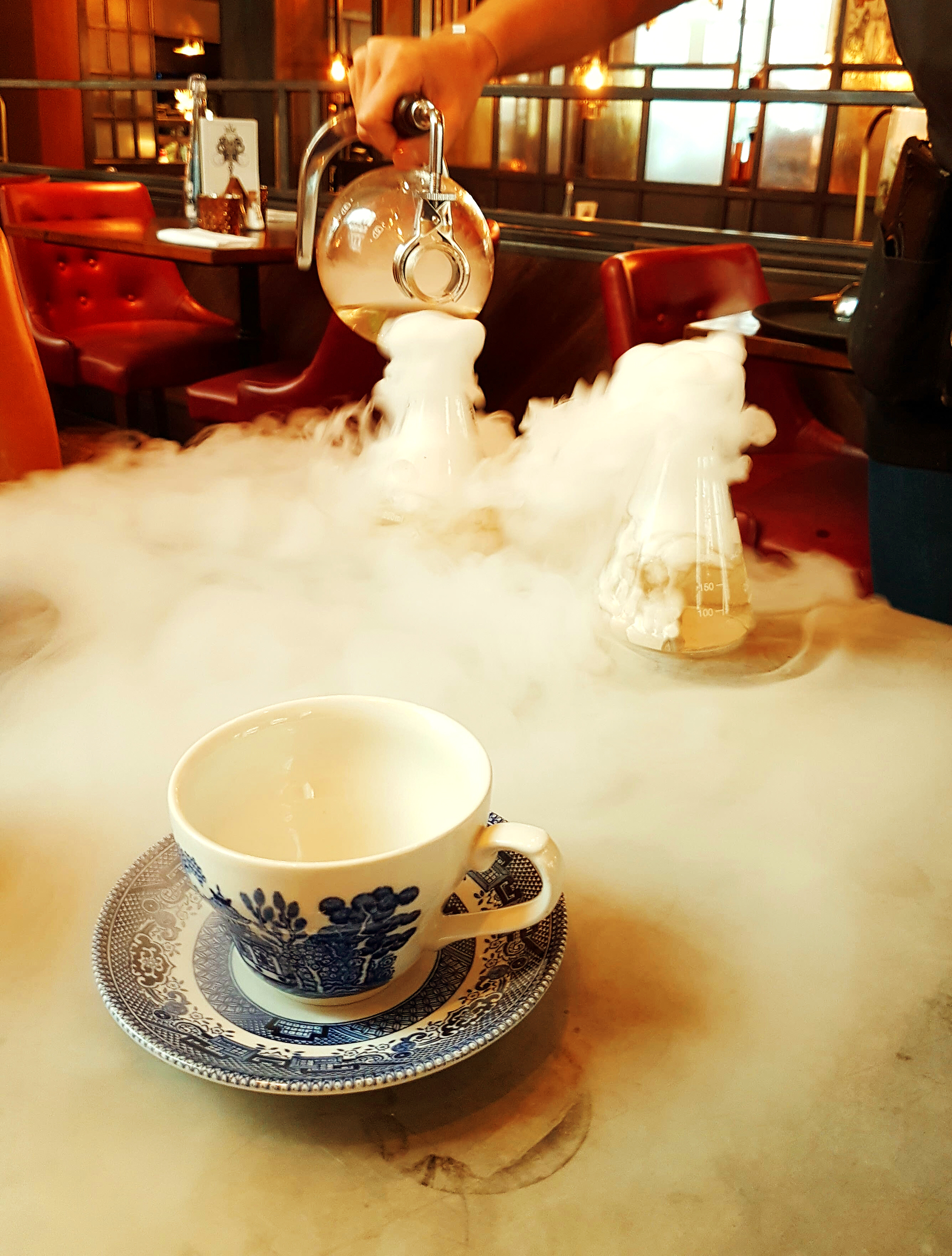 Madhatter cocktail smoke liverpool