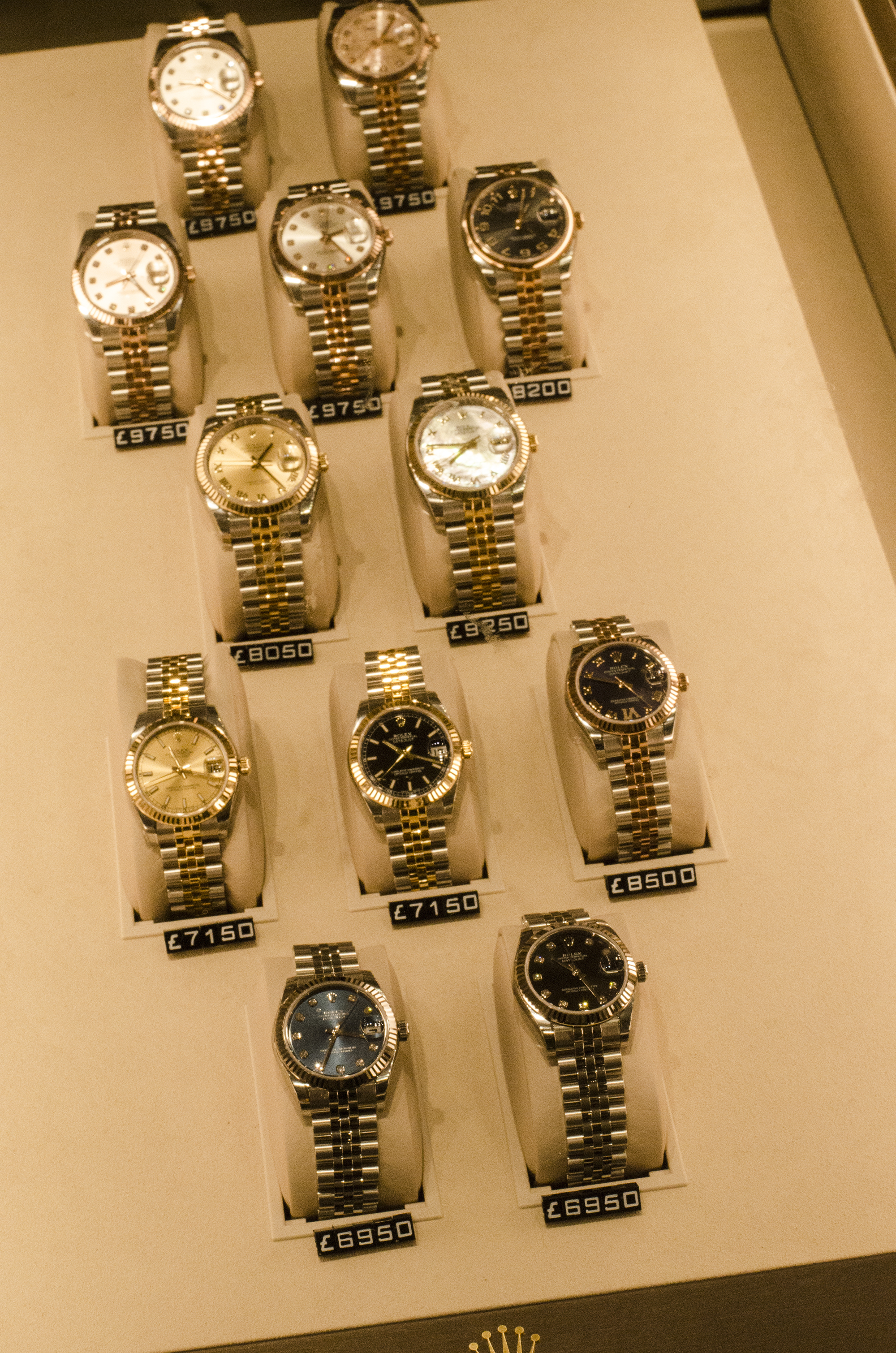 Rolex watches in Liverpool