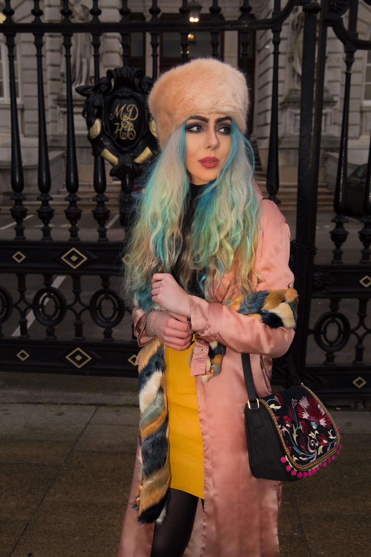 Stephi LaReine Faux Fur Outfit Lookbook