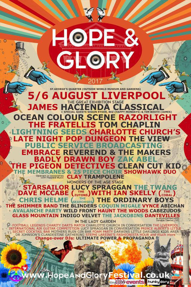 Hope & Glory Festival 2017 Review