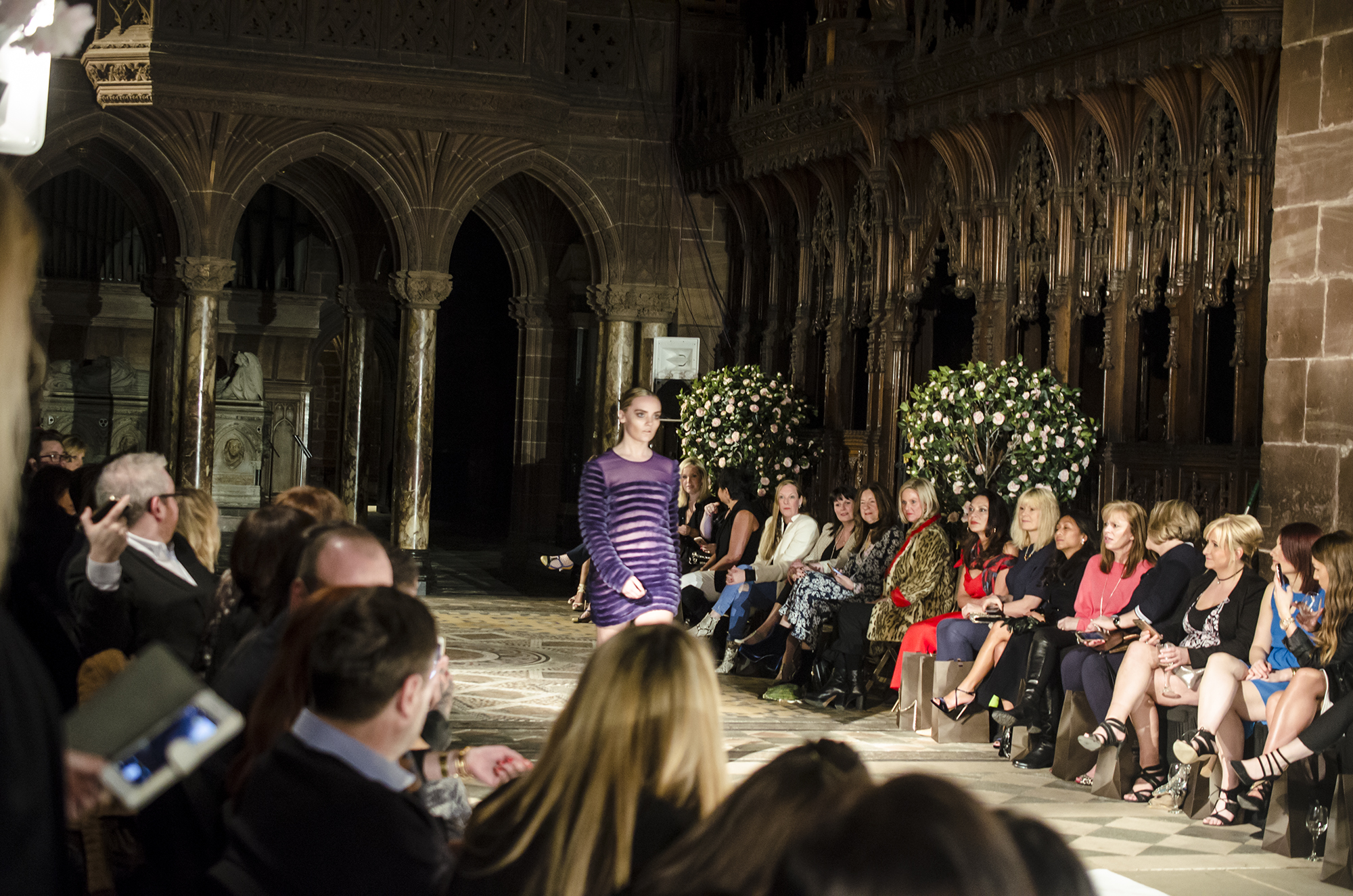 Matthew O'Brien Catwalk Chester Cathedral 2017