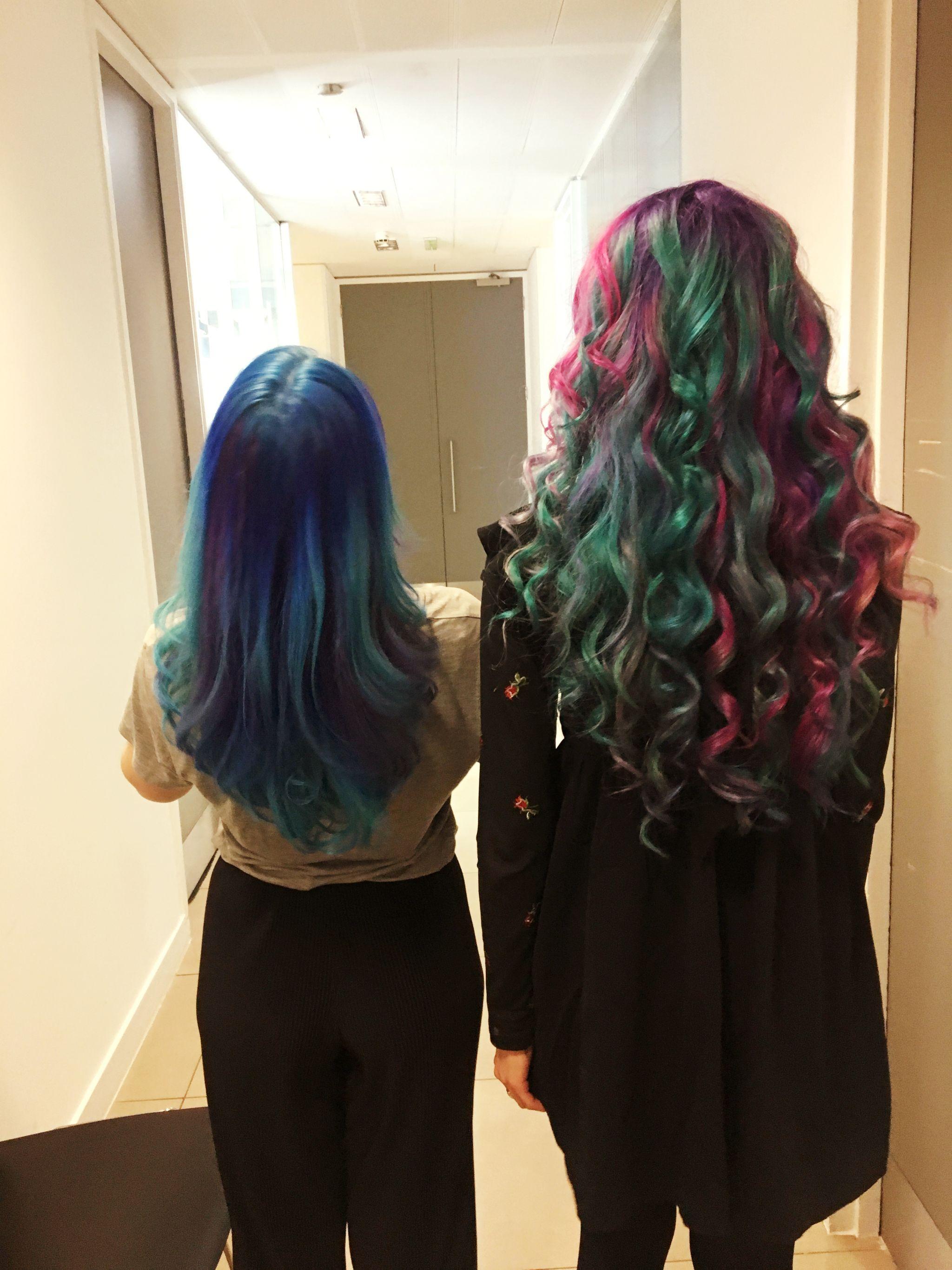 pastel hair grunge