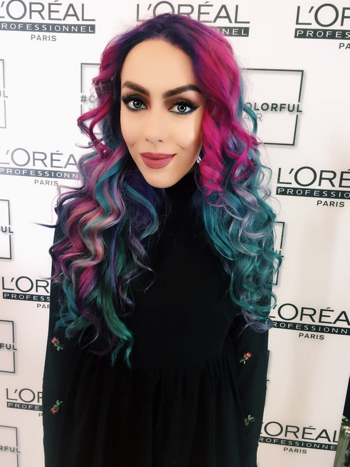MERMAZING HAIR WITH LOREAL PRO