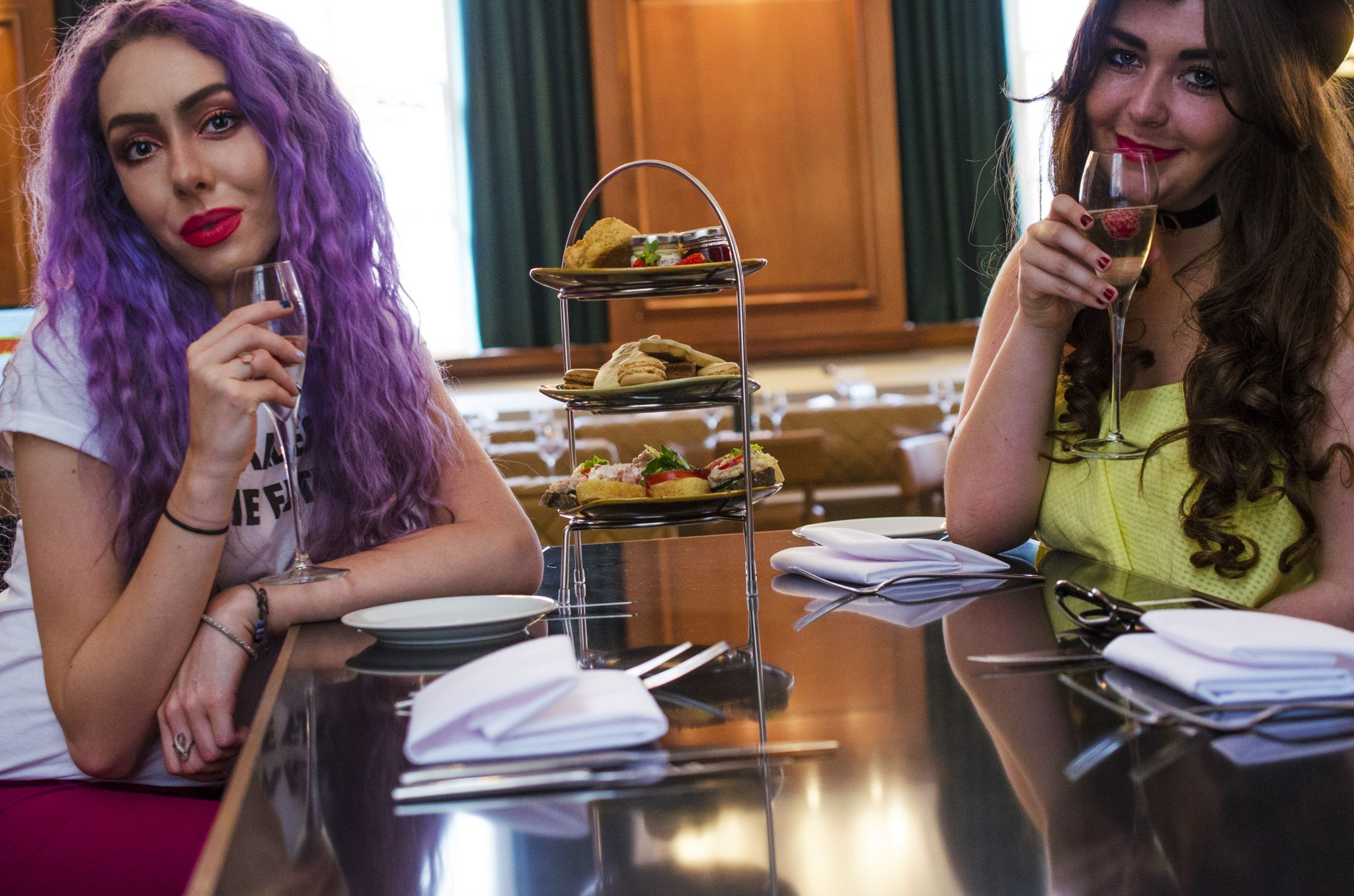 Stephi LaReine Dom Daly NYL Liverpool Fashion Afternoon Tea British Style Collective