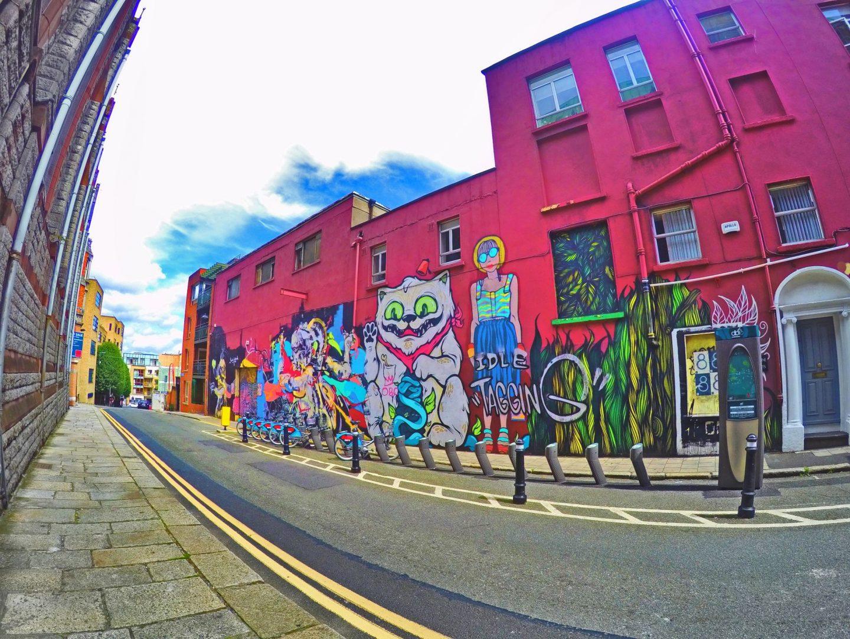 U2 graffiti wall location - U2 The Dublin Diary