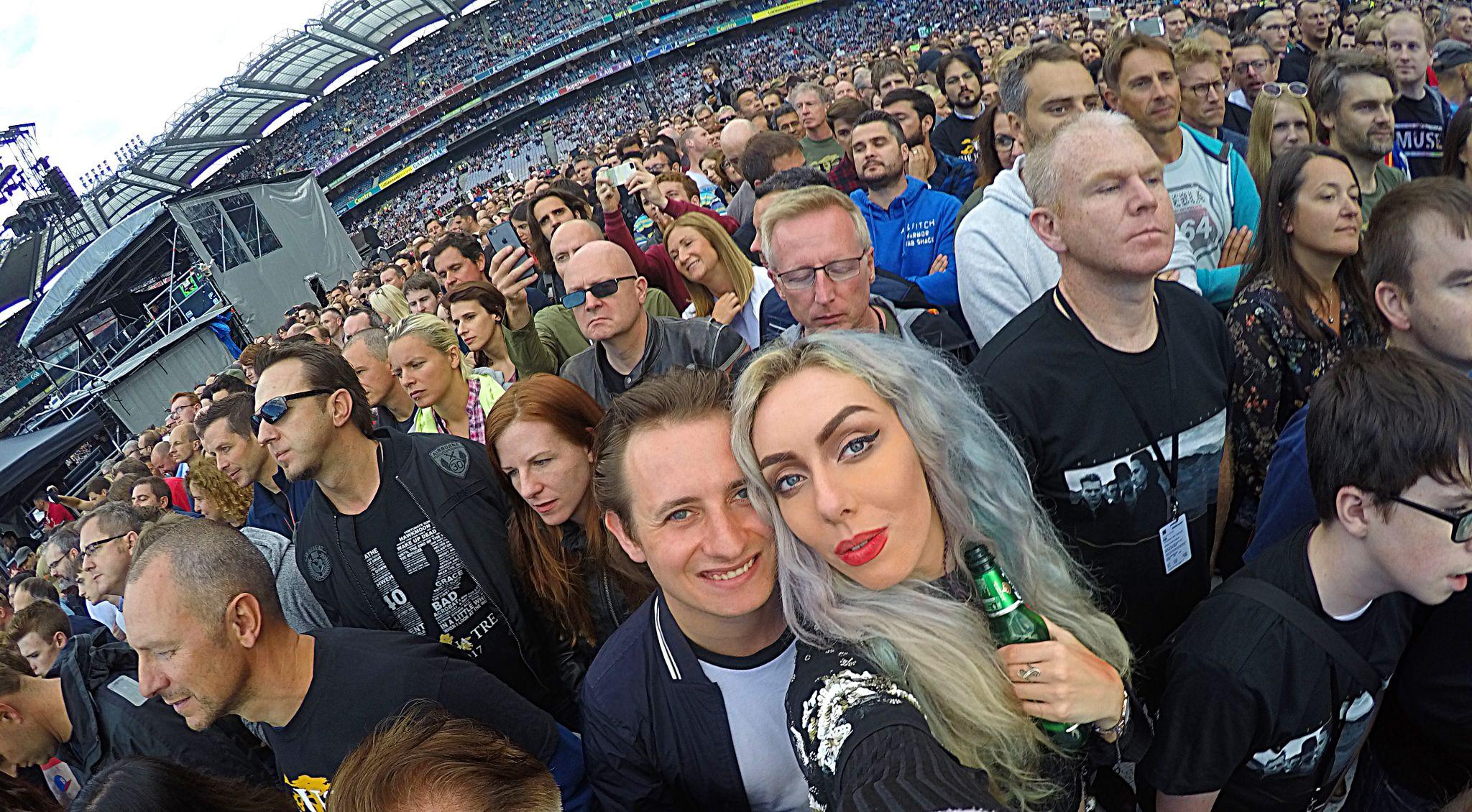 U2 Croke Park 2017 Dublin Ireland