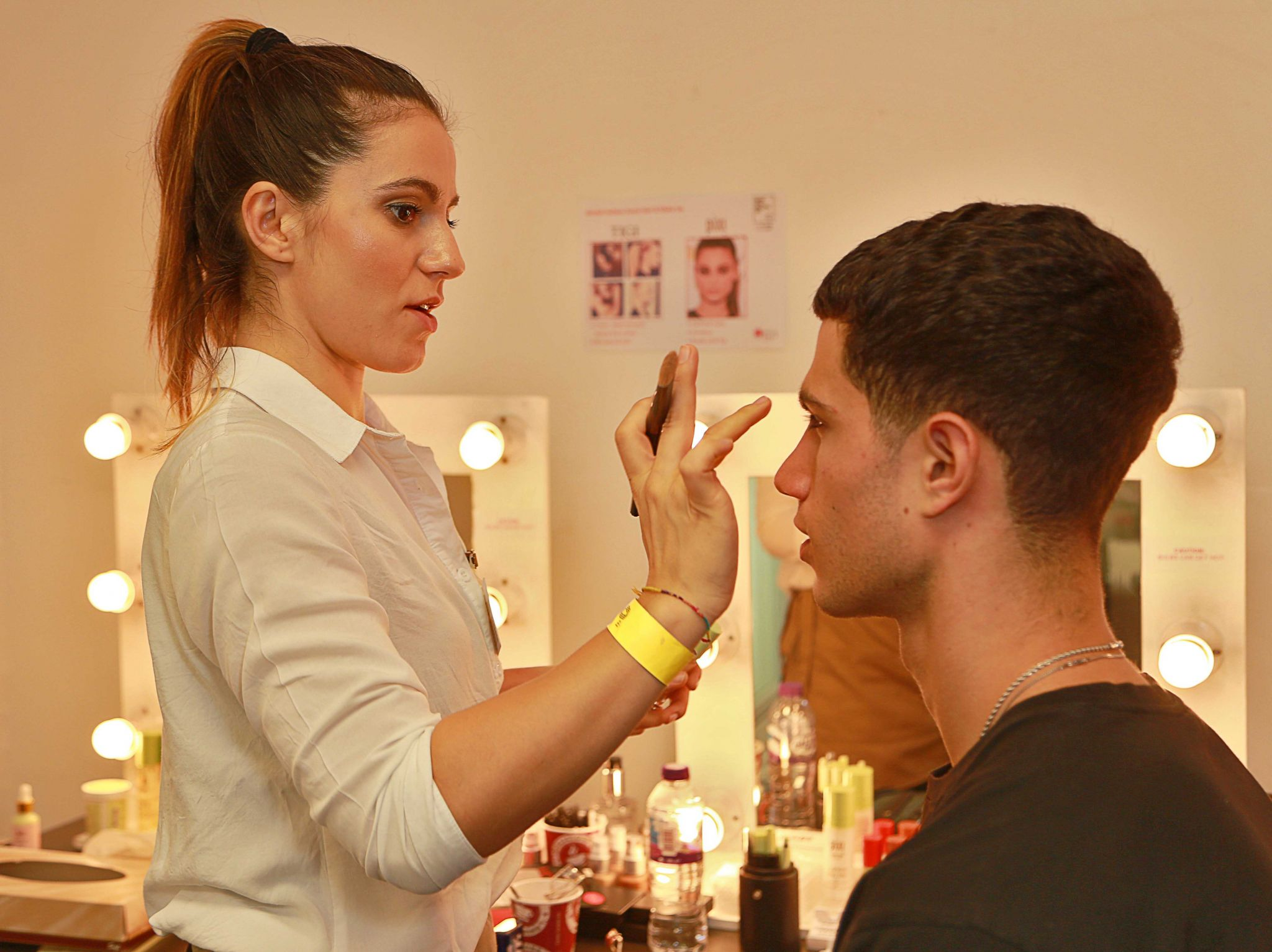 Backstage Makeup British Style Collective