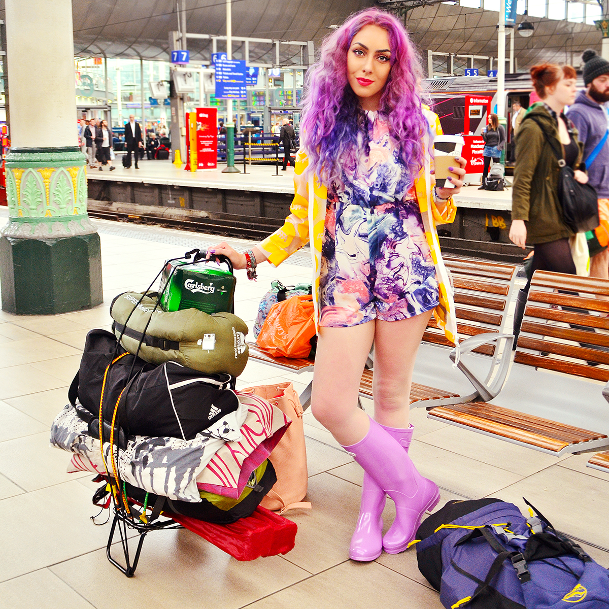 Packing For Leeds Festival Fashion Blogger Stephi LaReine