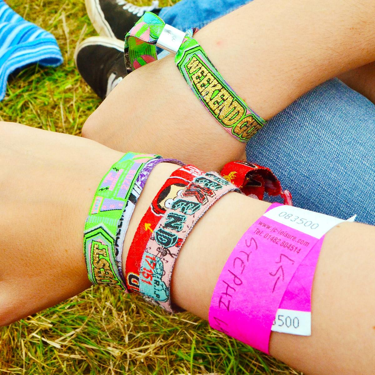 Leeds Festival wristbands