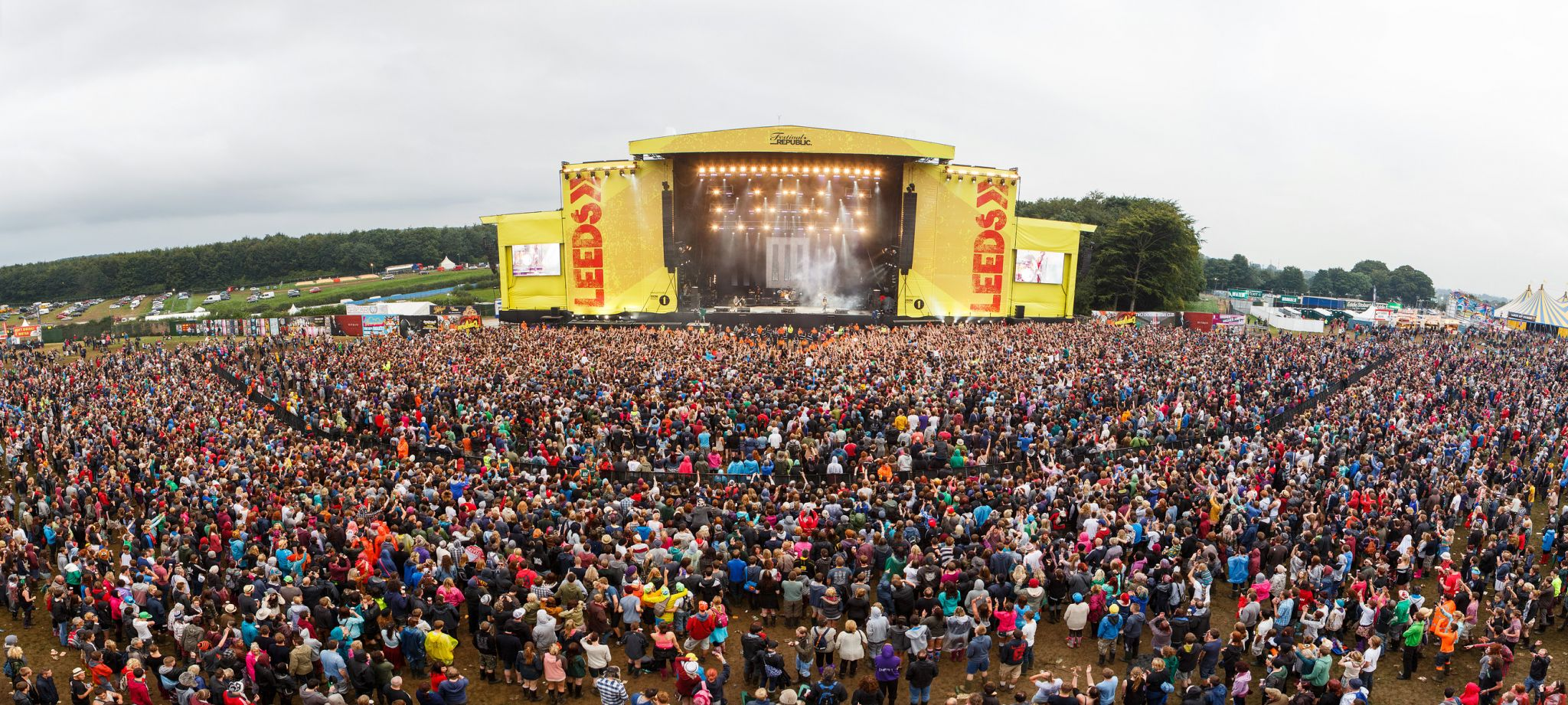Leeds Festival Crowd 2017