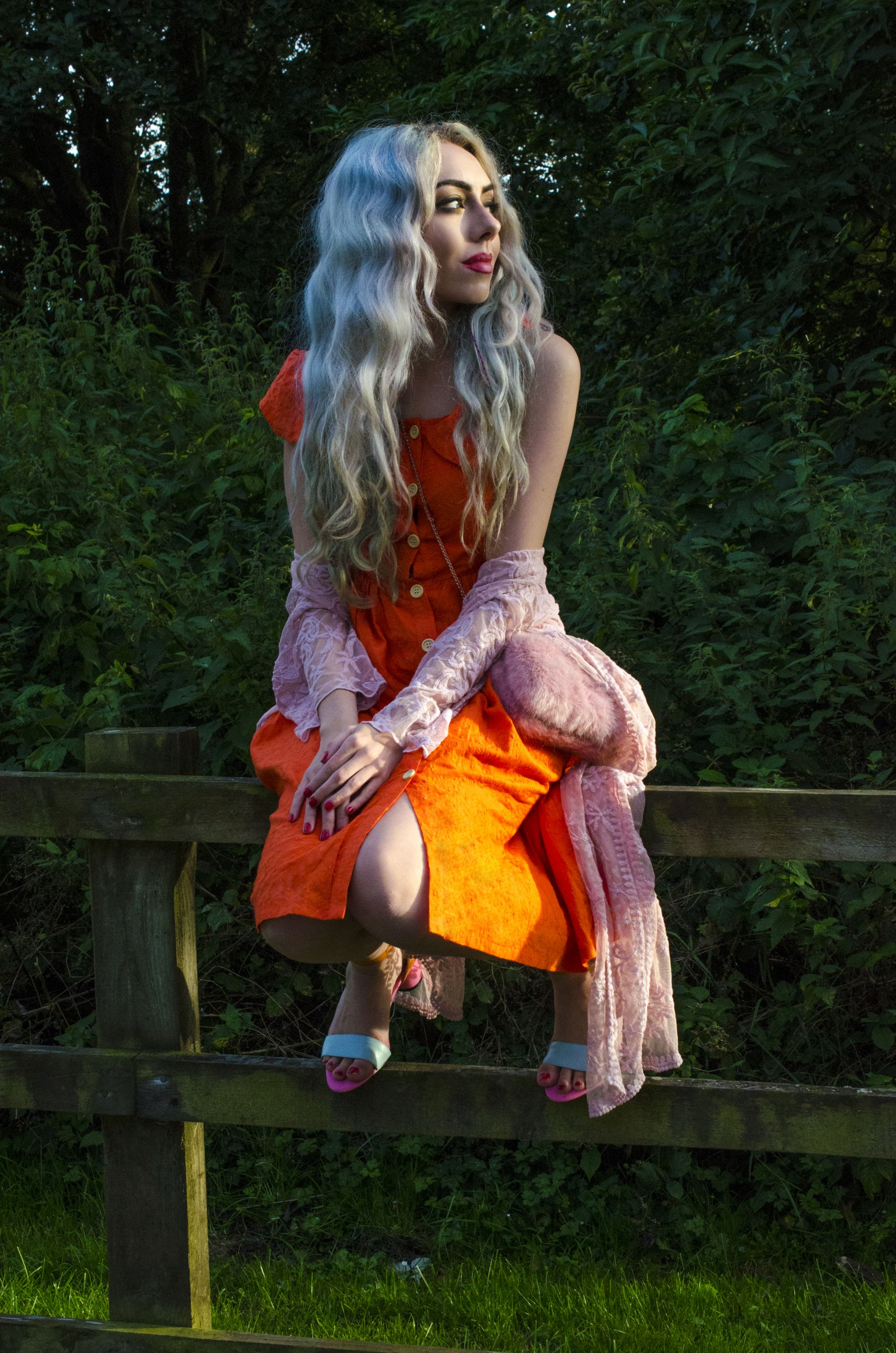 stephi lareine orange dress liverpool