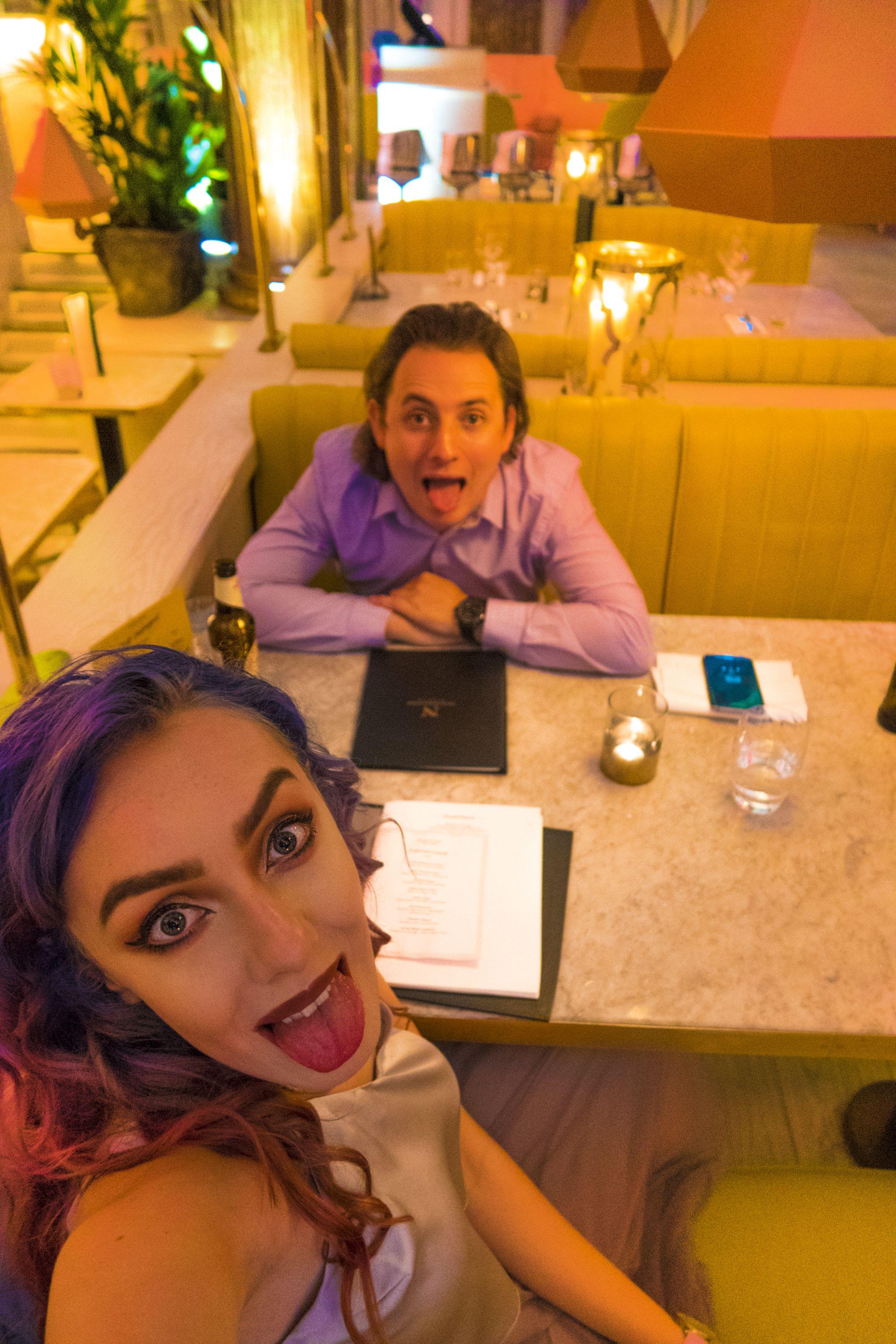 Stephi LaReine & Patrick McGuinness in Neighbourhood Liverpool Restaurant