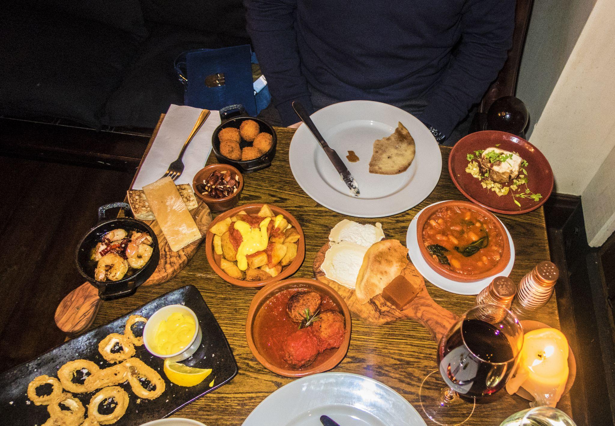 La Vina North John Street Tapas Review Liverpool
