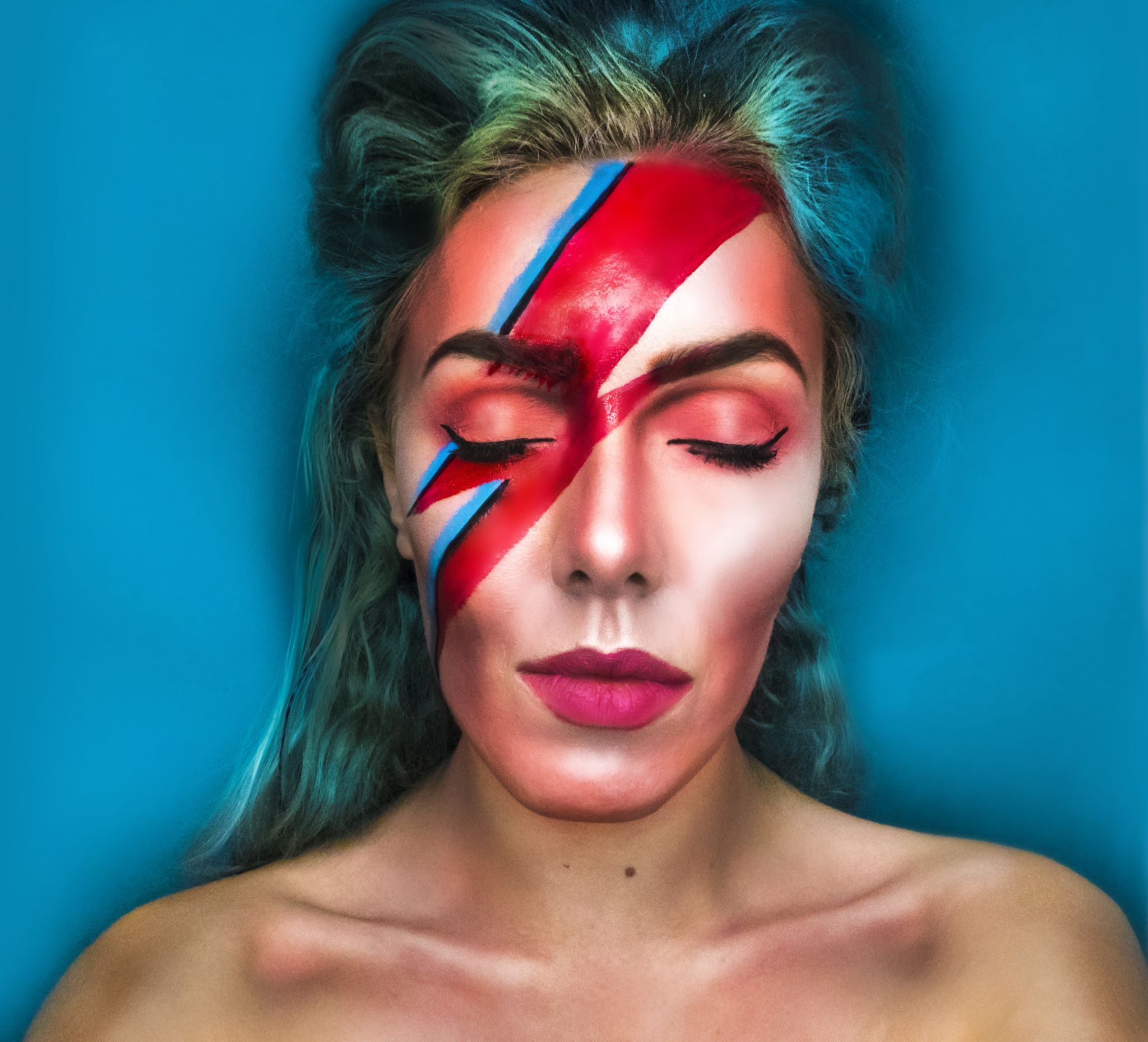 David Bowie Makeup