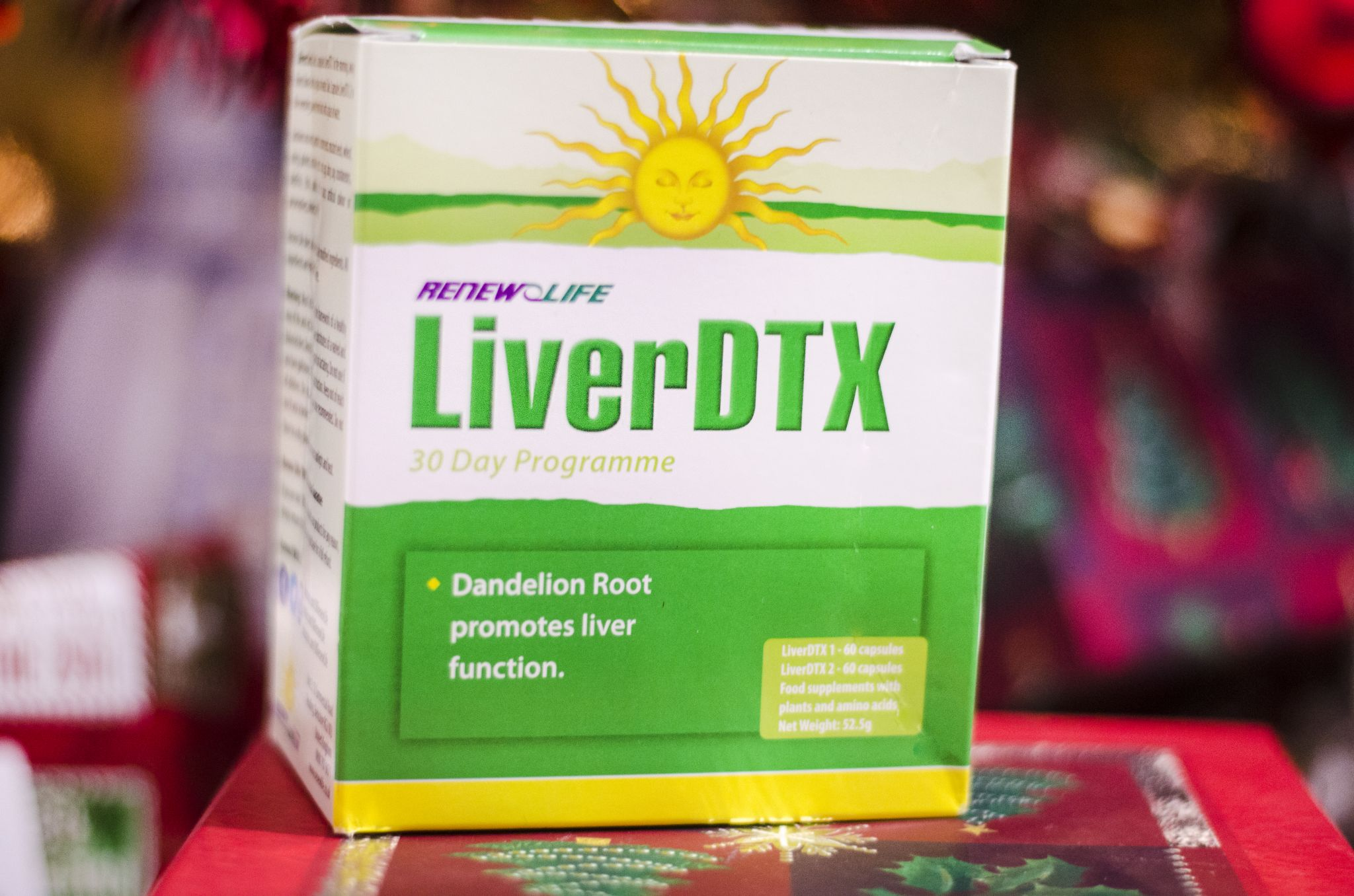 Liver detox at christmas
