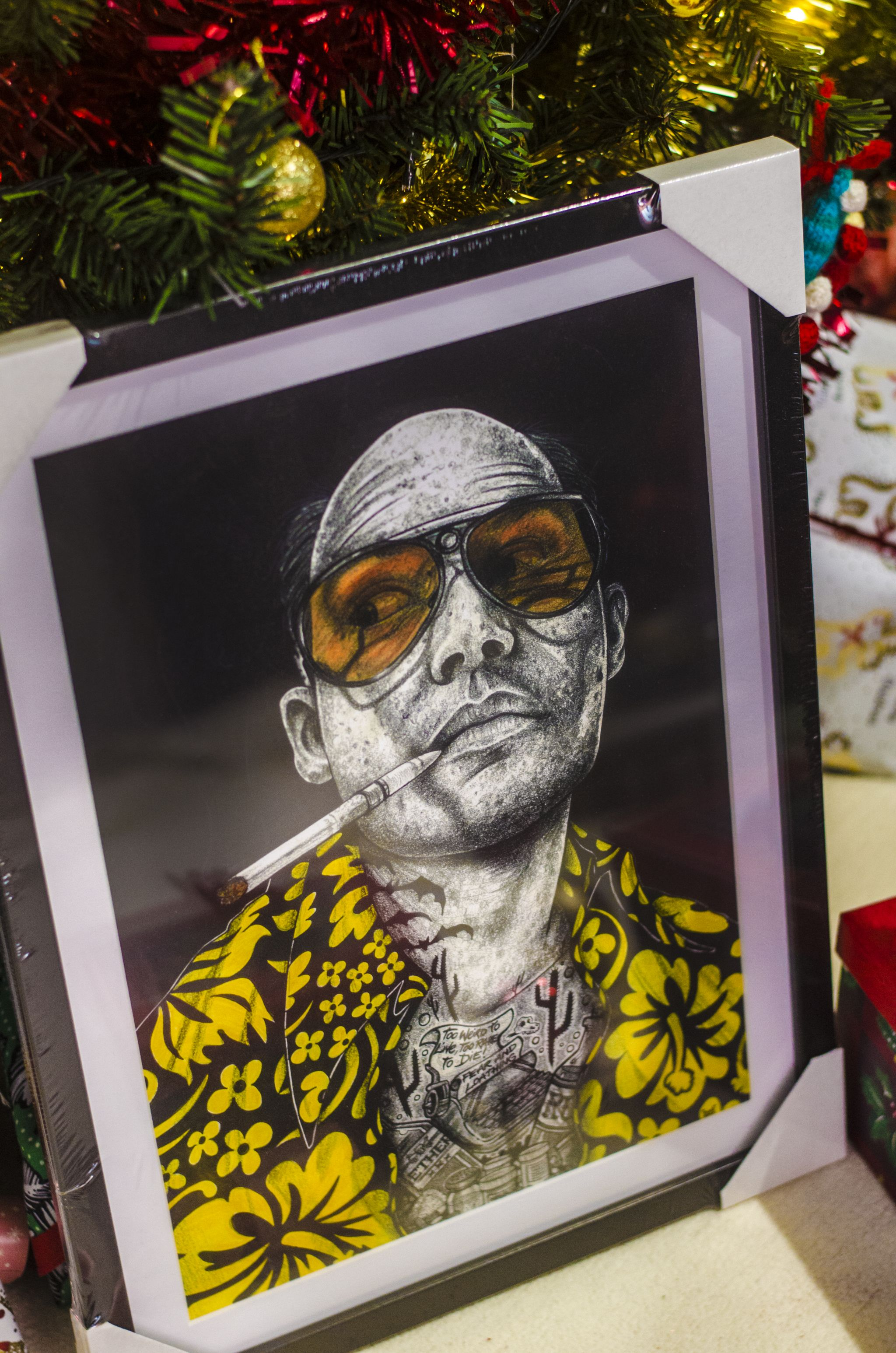 hunter s thompson art