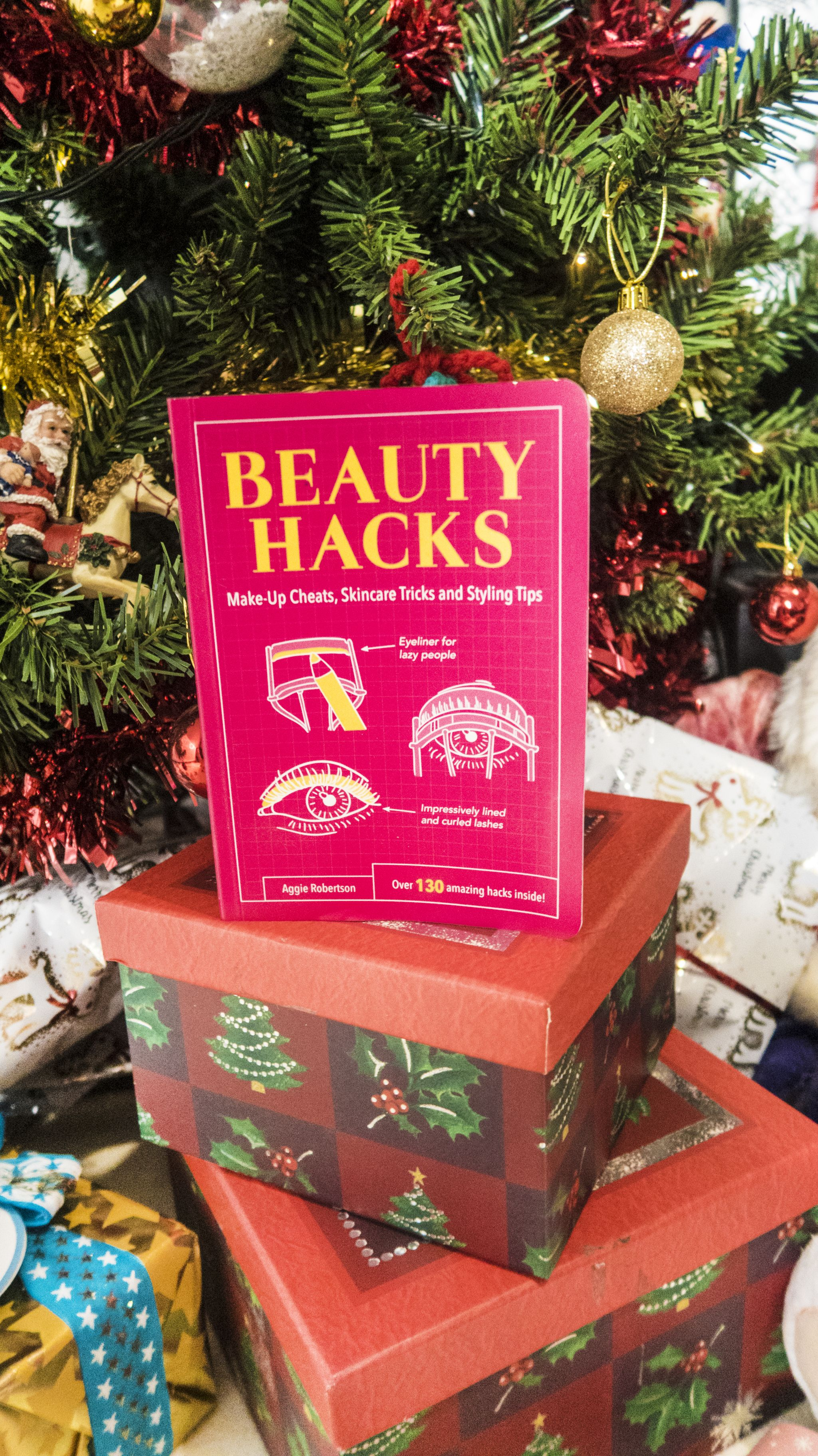 beauty hacks book