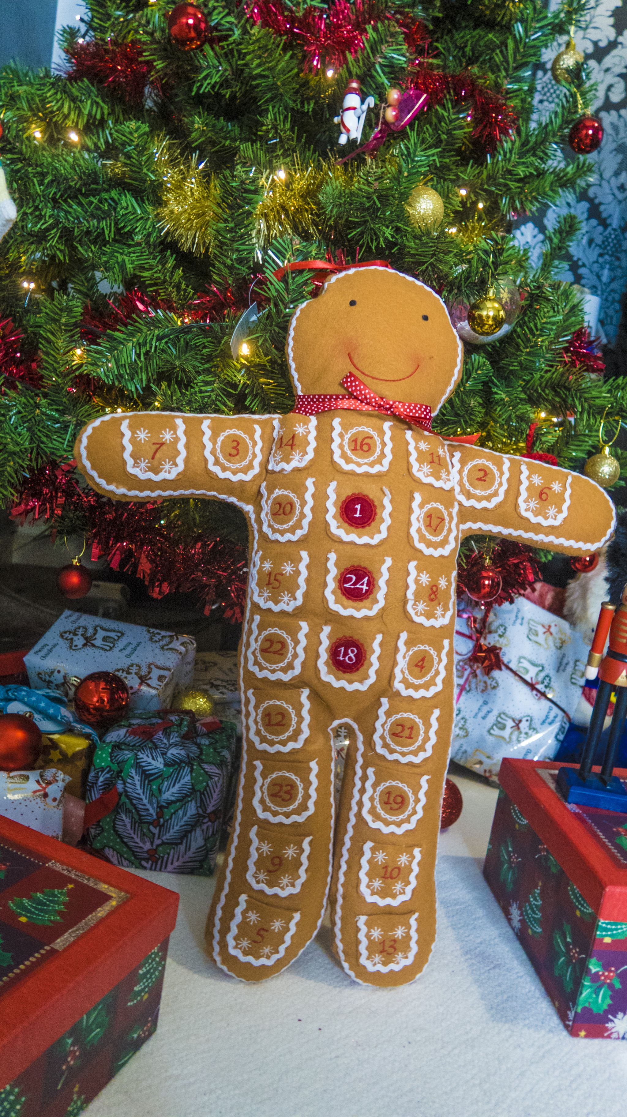 Amara Gingerbread Man Advent Calendar