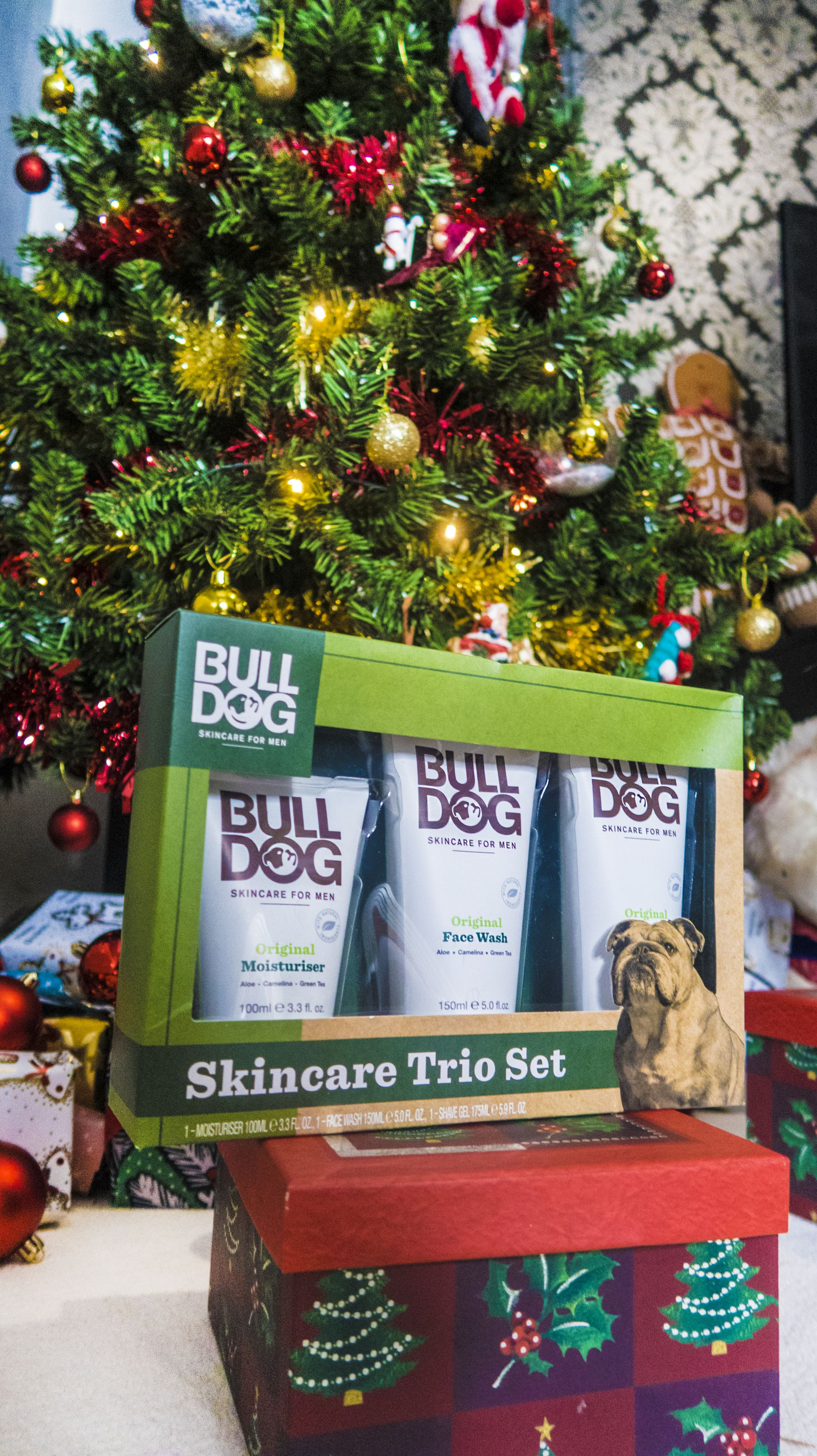 bulldog skincare trio set