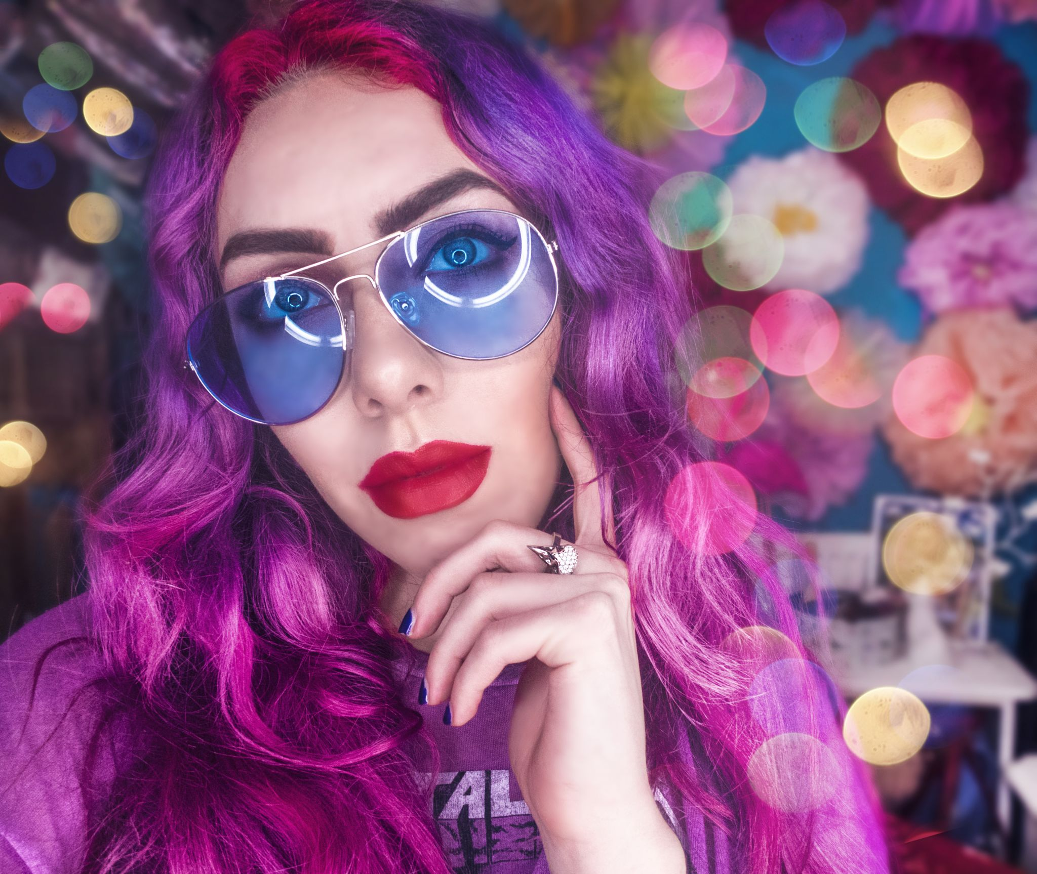 Liverpool Fashion Bloggers: Stephi LaReine pink hair