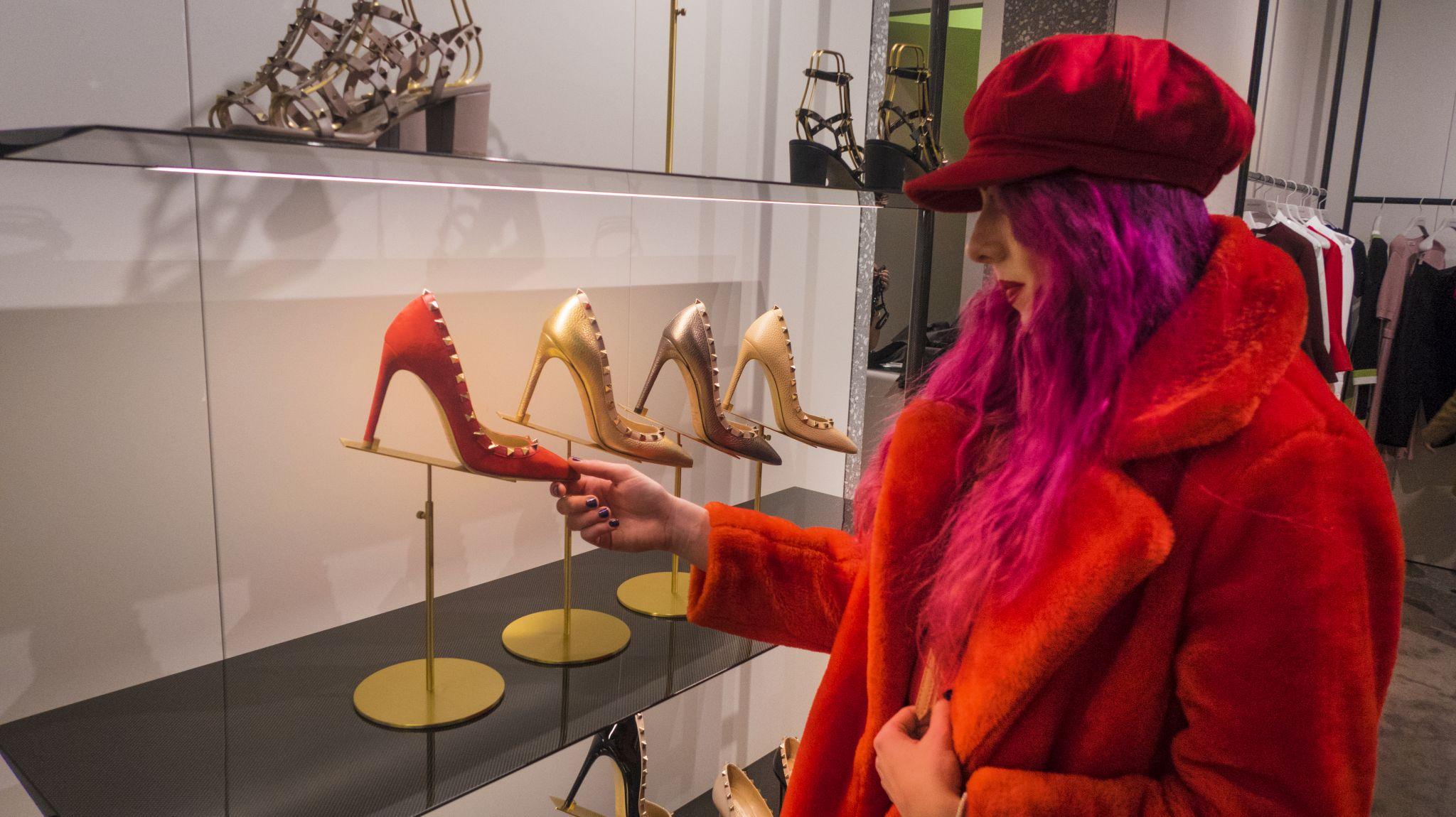 Luxury Fashion Blogger Stephi LaReine Selfridges Manchester