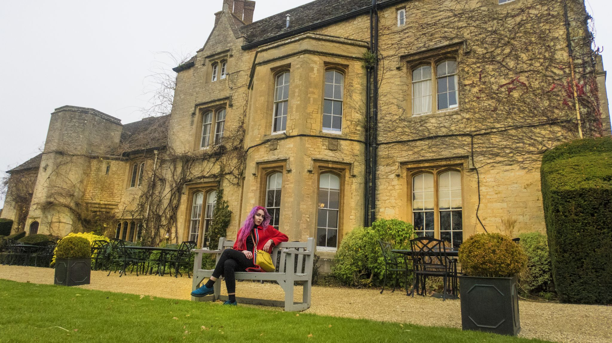 Travel Blogger Oxfordshire Manor House Country Hotel