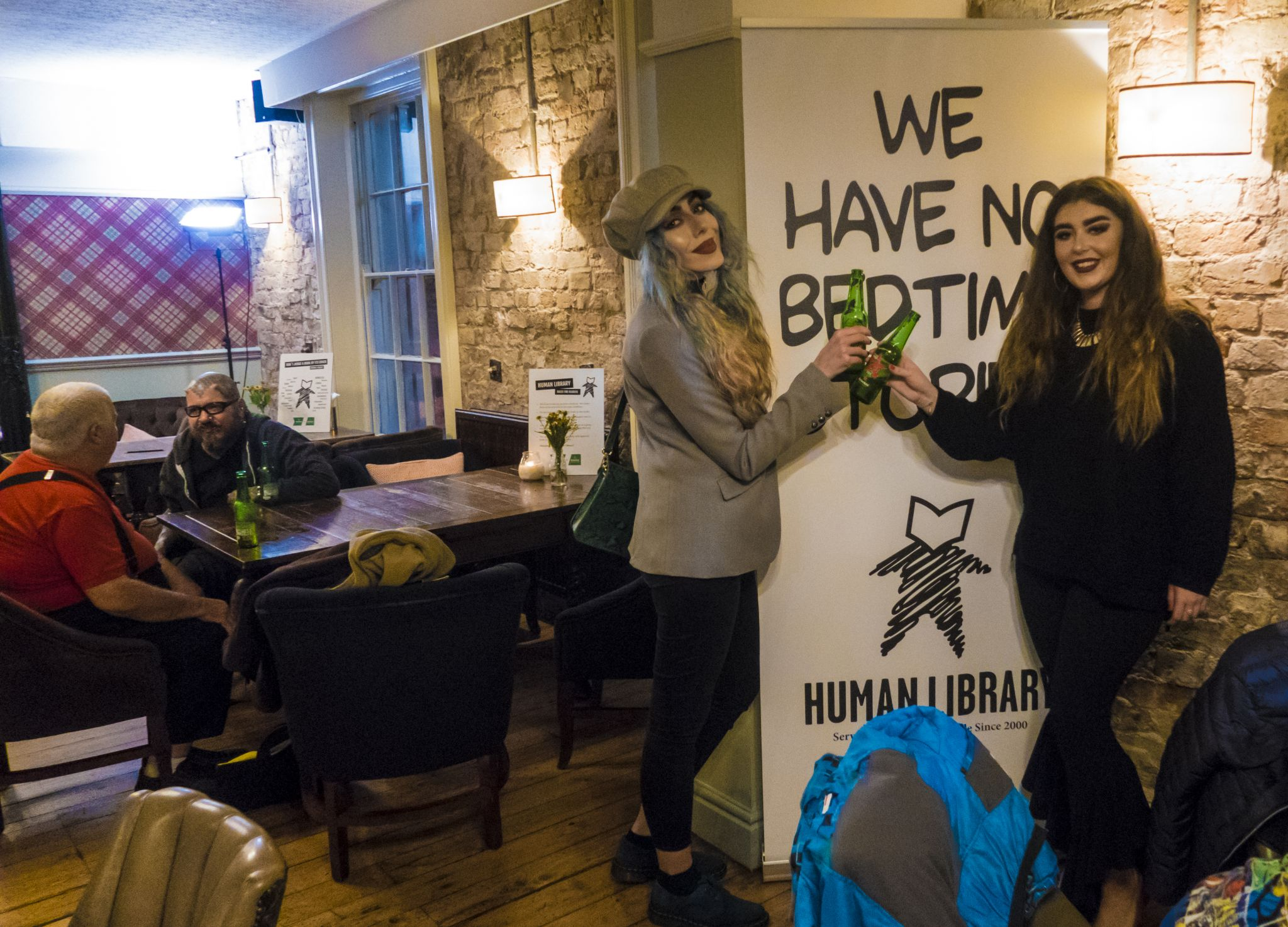 Heineken The Human Library with Stephi LaReine & Marietta Daly