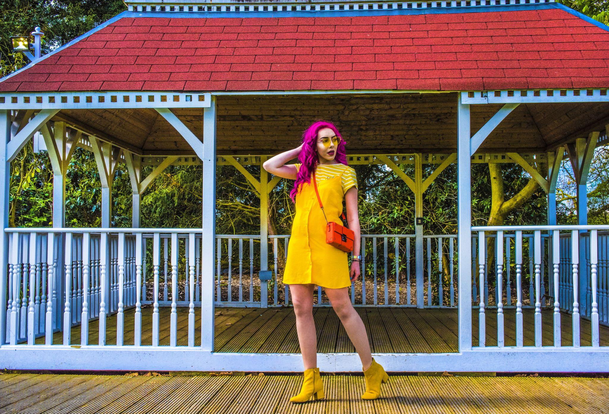 Stephi LaReine UK Fashion Blogger pink hair