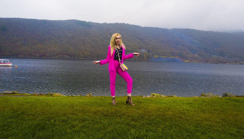 Stephi LaReine Pink Suit