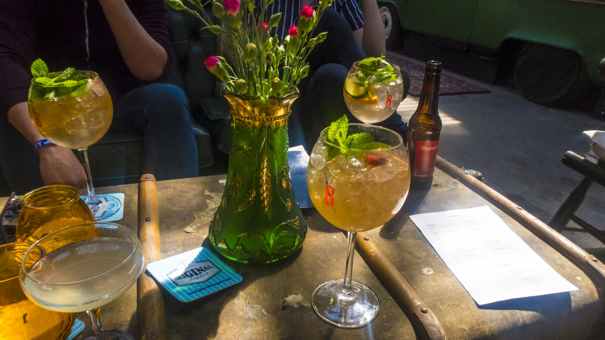 Liverpool Botanical Gin Garden Menu Review