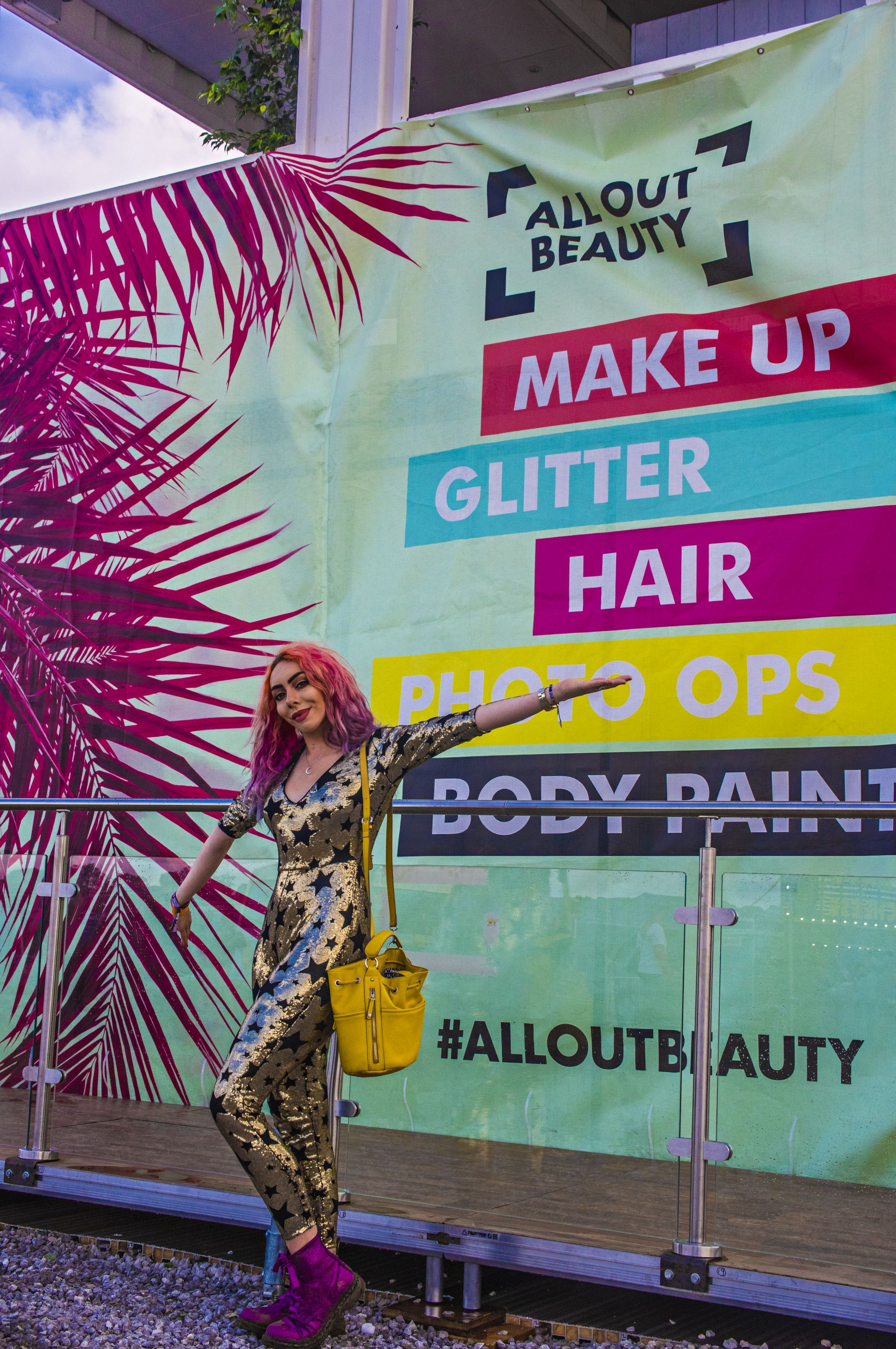 All Out Beauty Y Not Festival with Stephi LaReine 2018