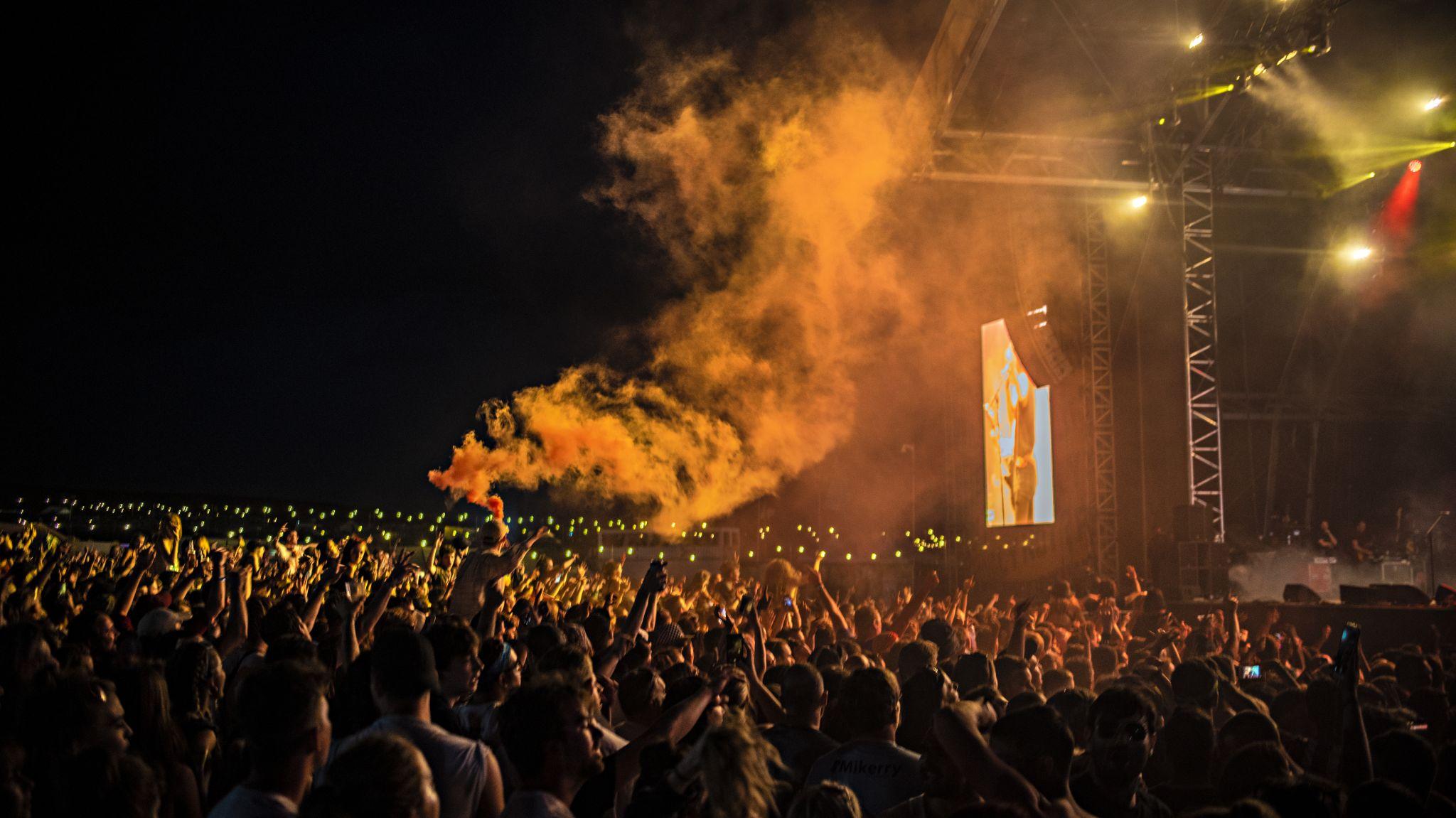 Y not festival crowd 2018