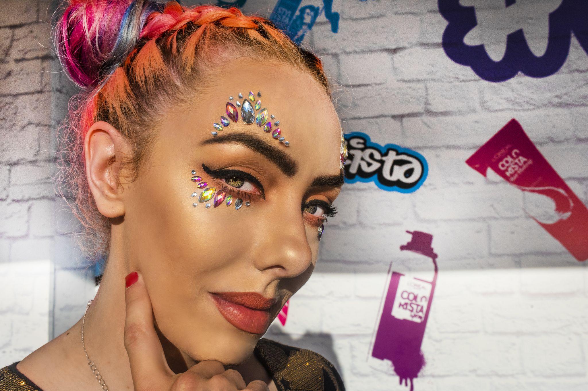 Festival Beauty Gem Ideas by Blogger Stephi LaReine