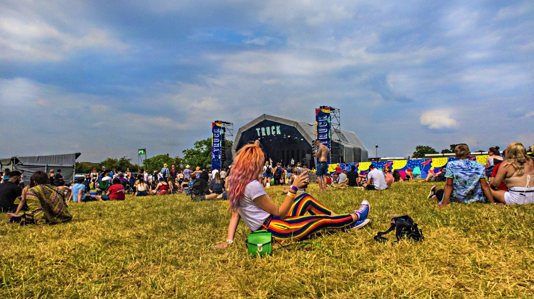 Festival Style Fashion Blogger Stephi LaReine Truck Festival 2018