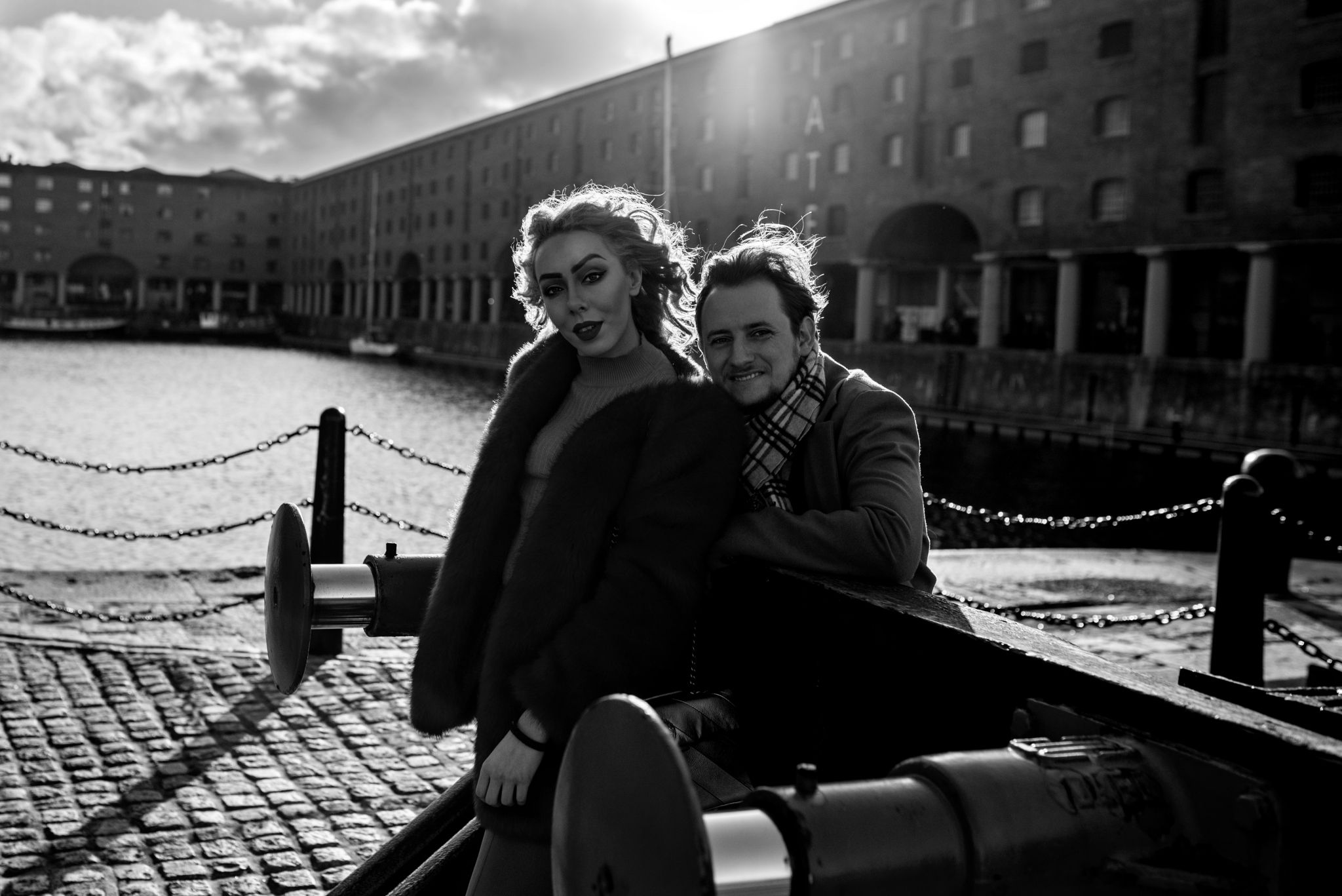 albert dock photography with liverpool blogger stephi lareine and patrick mcguinness