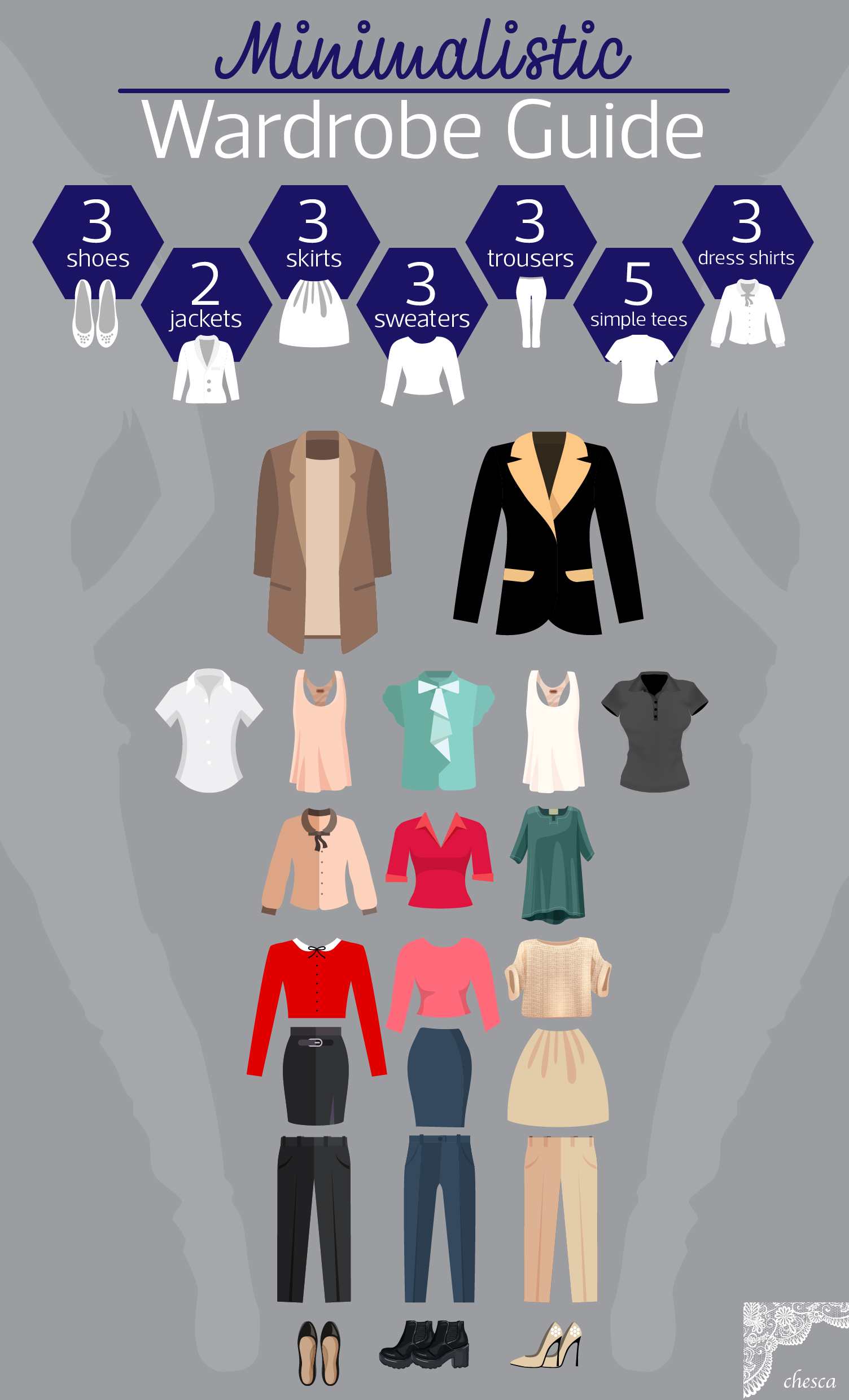 how to have a minimalistic wardrobe