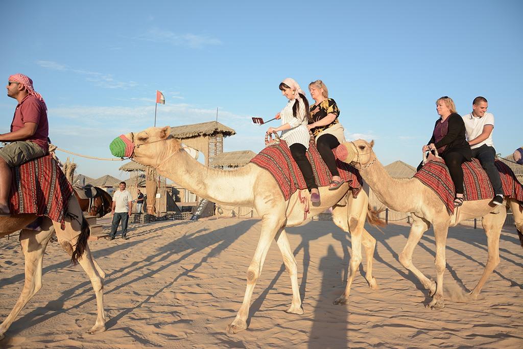 VISITING DUBAI DESERT SAFARI