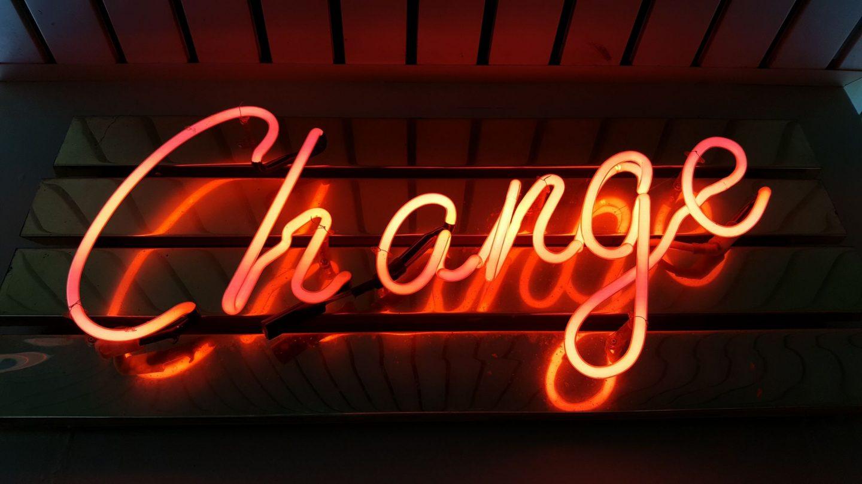 neon sign change