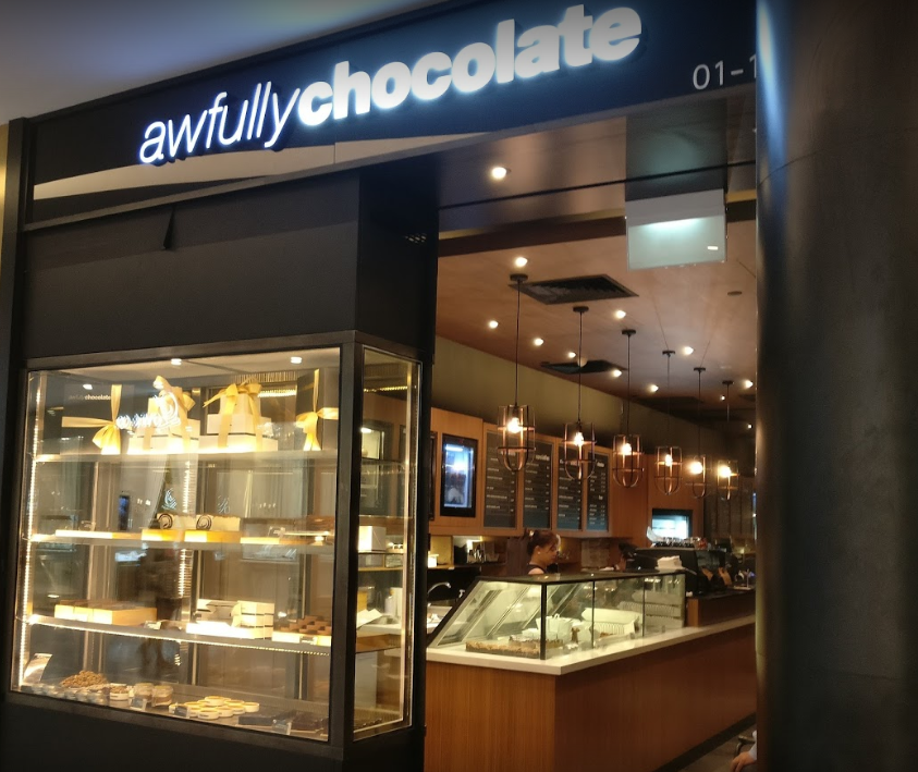 AWFULLY CHOCOLATE: MUST VISIT CAKE SHOP IN SINGAPORE