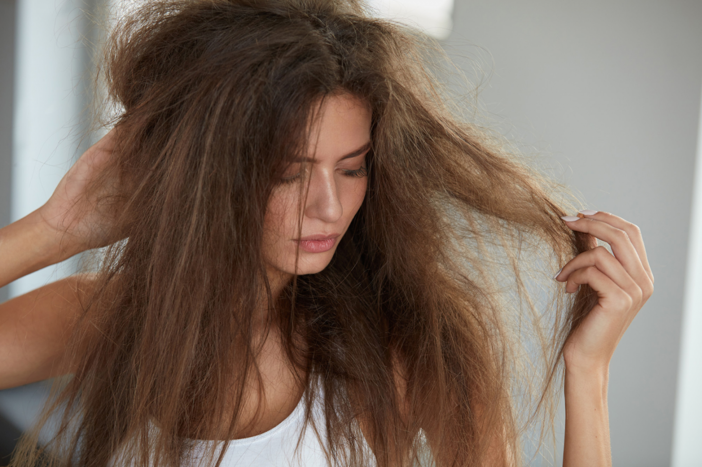HOW TO GET RID OF FRIZZY HAIR FOR GOOD