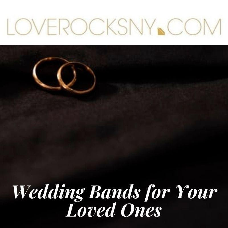 POINTS TO KEEP IN MIND WHEN BUYING WEDDING BANDS ONLINE
