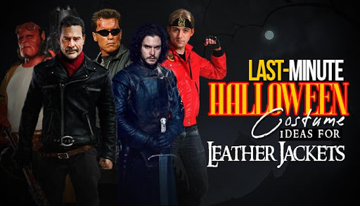Last-Minute Halloween Costume Ideas With Leather Jackets